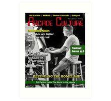 Arcade Culture Magazine - November 2013 Art Print
