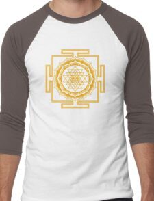 Shri Yantra - Cosmic Conductor of Energy Men's Baseball ¾ T-Shirt