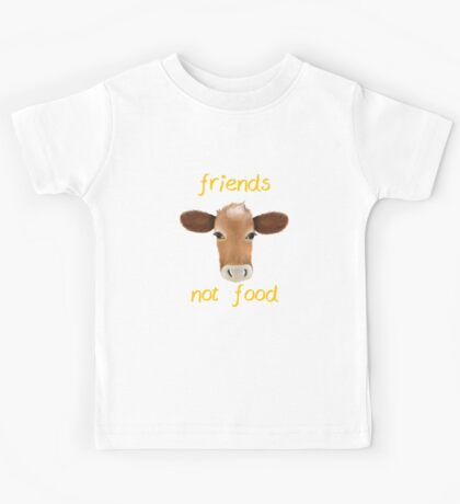 Friends not food cow Kids Tee