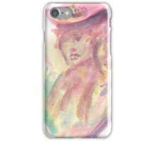 Watercolor Bust iPhone Case/Skin