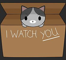 Cats always watching you by shadee