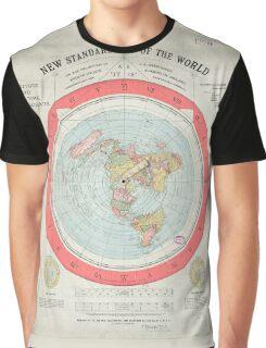Flat Earth Graphic T-Shirt