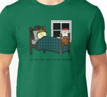 He sees you when you're sleeping - Christmas Unisex T-Shirt