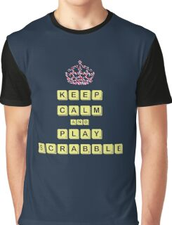 Keep Calm And Play Board Games Graphic T-Shirt