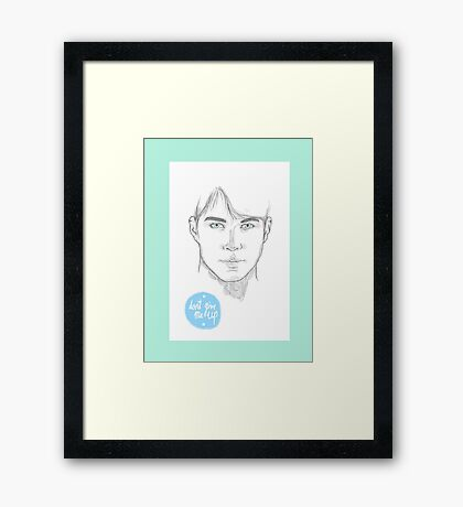 Don't give up.  Framed Print