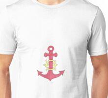roter Anker Unisex T-Shirt