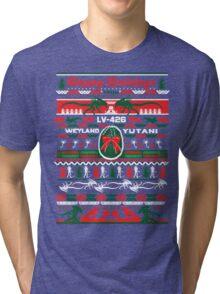 Happy Holidays from Weyland Yutani Tri-blend T-Shirt