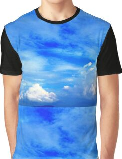 Floating Clouds in the sky Graphic T-Shirt