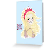 Historia - Summer Festival Queen Greeting Card