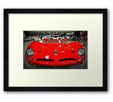 Red Ferrari Framed Print