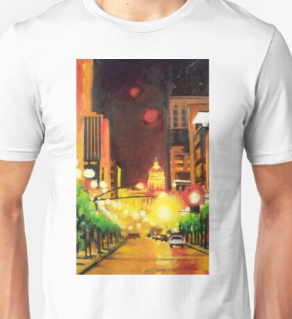 The Streets Run with Crimson and Gold Unisex T-Shirt