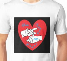 ASL You Touch my Heart! Unisex T-Shirt