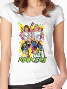 Rockers Tag Team Women's Fitted Scoop T-Shirt