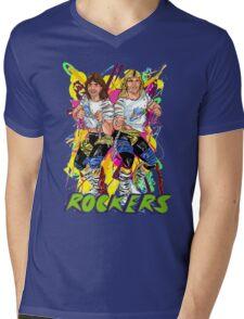 Rockers Tag Team Mens V-Neck T-Shirt