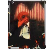 Cocktails with the Crimson King I : The Numbers Man iPad Case/Skin