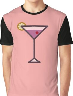 Cocktail - Icon Prints: Drinks Series Graphic T-Shirt