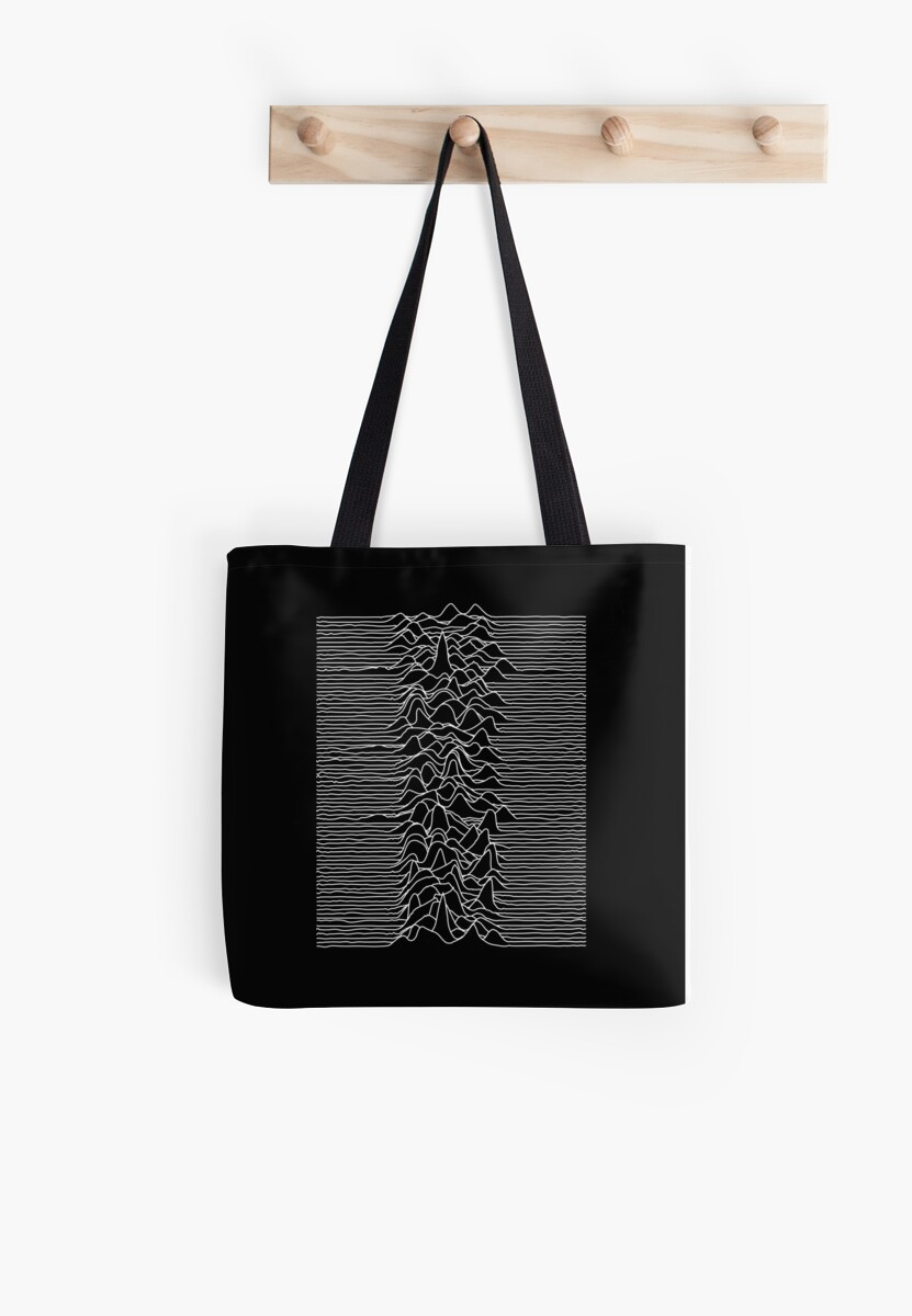 Joy Division : Unknown Pleasures - White by Joy Division