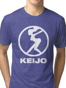 Keijo!!!!!! Hip Whip Girl Tri-blend T-Shirt