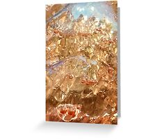Abstract alcohol! Greeting Card