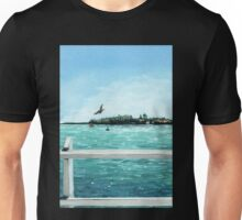 West Cliff Across the Water Unisex T-Shirt