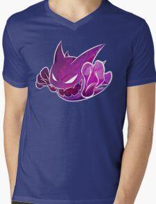 Haunter texture Mens V-Neck T-Shirt