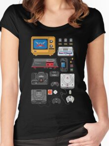 SErvice GAme History Women's Fitted Scoop T-Shirt