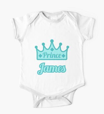 Baby boy aka Prince James One Piece - Short Sleeve