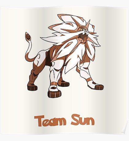 Team Sun - Solgaleo Poster