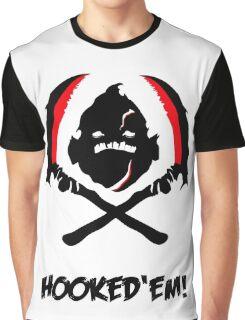 Dota - Hooked Em Graphic T-Shirt