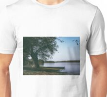 Boat Parked Under the Tree Unisex T-Shirt