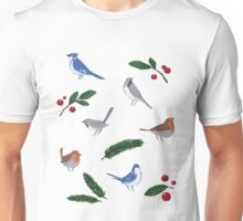 Birdies Pattern 2 Unisex T-Shirt