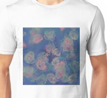 Inverted Watercolour Flowers Unisex T-Shirt