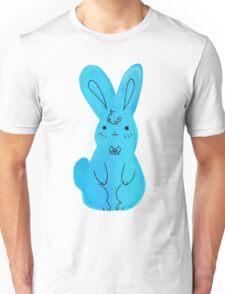 Blue Bunny Watercolor Unisex T-Shirt