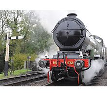 Steaming Across The Greenwich Meridian Photographic Print
