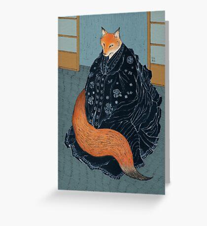 The Fox's Wedding Greeting Card