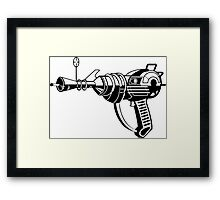 Raygun Cod Zombies  Framed Print