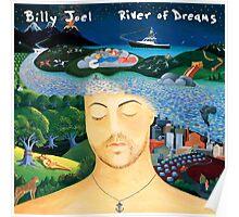 BILLY JOEL RIVER DREAMS 2017 Poster