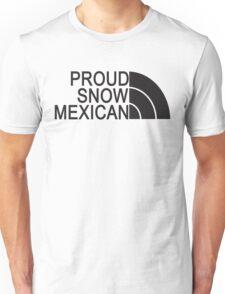 Proud Snow Mexican Unisex T-Shirt