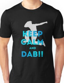 keep calm and dab dabber dance football touch down Unisex T-Shirt
