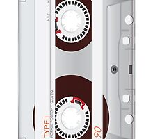 Cassette Tape by artvia