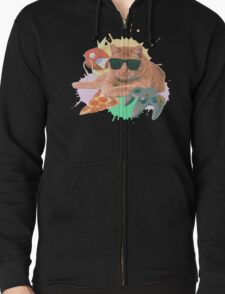 Welcome To The Internet Zipped Hoodie