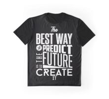 Create. B&W Graphic T-Shirt