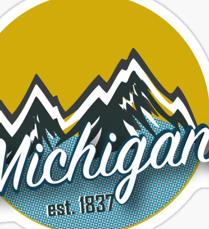 Michigan 2 Sticker