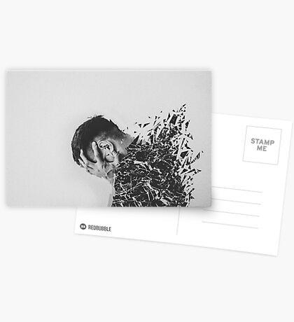 Defragmentation Greeting Card
