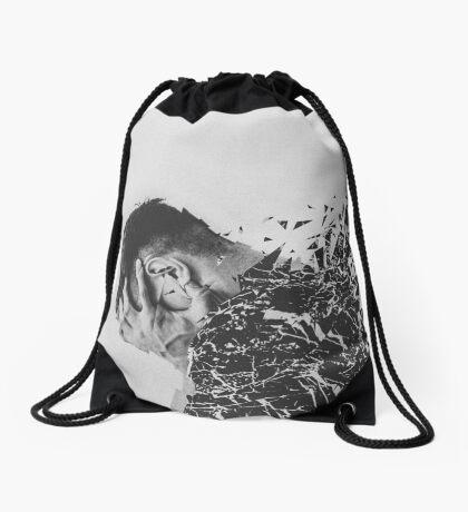 Defragmentation Drawstring Bag