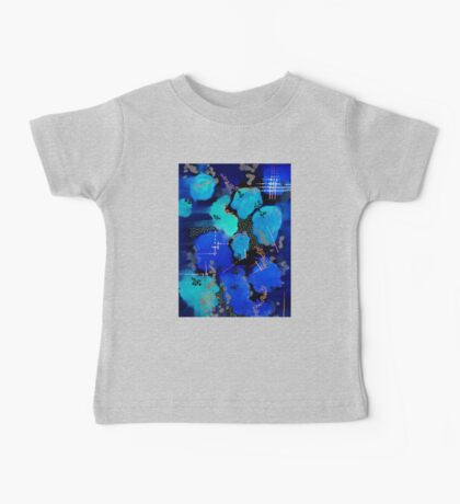 Inverted Abstract Clouds Baby Tee