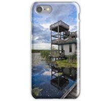 Rustic Boardwalk Viewing Tower iPhone Case/Skin