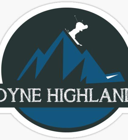Boyne Highlands Sticker