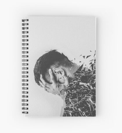 Defragmentation Spiral Notebook