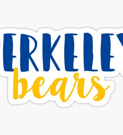 Berkeley Bears Sticker